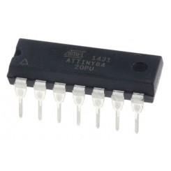 ATTINY84A-PU Atmel AVR-RISC-Controller DIP14