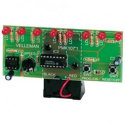Velleman MK107 Lauflicht mit LEDs, Bausatz