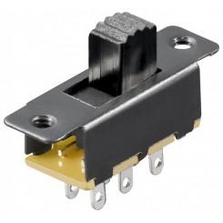 Schiebeschalter - 6 Pins 2xUM