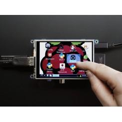 Adafruit PiTFT - Assembled 480x320 3,5 inch TFT+Touchscreen für Raspberry Pi