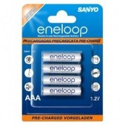 Sanyo ENELOOP NiMH 800mAh AAA 4-er Pack