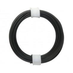 Kupferschalt Draht schwarz 0,5 mm