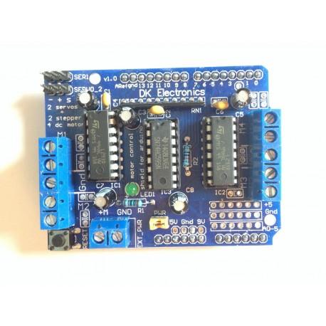 Arduino-Motor Driver Shield L293D