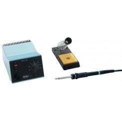 Weller Lötstation WS 81 230 V 80 W hellblau / schwarz