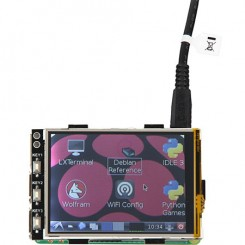 "Touchscreen-Display 8,13 cm (3,2"") für Raspberry Pi"