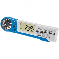 Hand-Windmesser , Thermo-Hygro-Anemometer