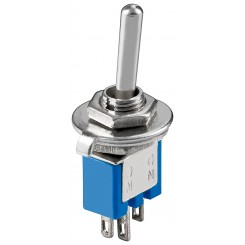 MS244LC Kippschalter Subminiatur - 1xUM , 3 Pins