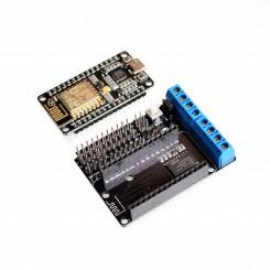 Nodemcu + Motor Schild ESP wifi ESP8266 ESP-12E