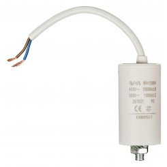 Anlaufkondensator 8 µF / 450 V + Kabel