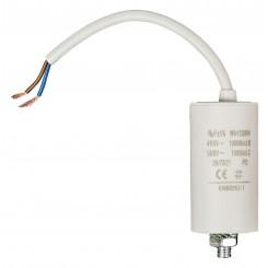 Anlaufkondensator 10 µF / 450 V + Kabel
