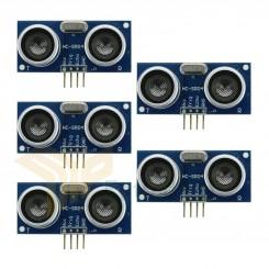 5x HC-SR04 4-Pin Ultraschall Abstandsmessung Sensor für Arduino