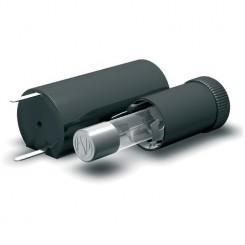 Sicherungshalter stehend geschlossen für Sicherungen 5 x 20 mm