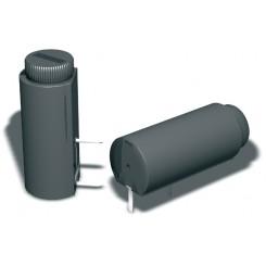 Sicherungshalter liegend geschlossen für Sicherungen 5 x 20 mm