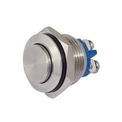 Metalltaster 16 mm 1 x Schliesser