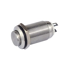 Metalltaster 12 mm 1 x Schliesser