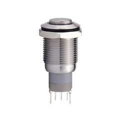 Metalltaster 16 mm mit Ringbel. 1 x Wechsler