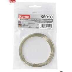 Kupferdraht blank verzinnt Ø 1,0 mm 5 m Ring