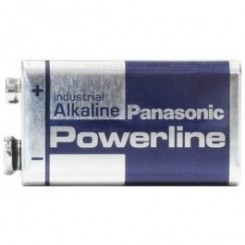 Panasonic PowerLine Alkali 9 V-Block 9,0 V
