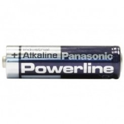 4x Panasonic PowerLine Alkali Mignon AA 1,5 V