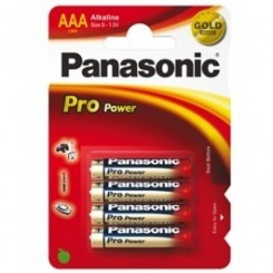 Panasonic Pro Power Batterie Alkali Micro AAA 1,5 V Blister