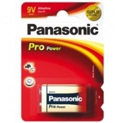 Panasonic Pro Power Batterie Alkali 9 V-Block Blister