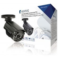 CCTV Videoüberwachungskamera 700 TVL Schwarz