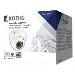 Dome Videoüberwachungskamera 700 TVL Weiß