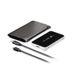 "USB 3.0 Gehäuse 6,35cm (2,5"") weiß"