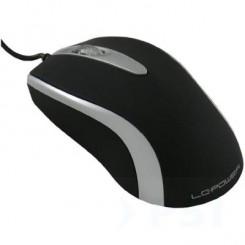 USB Maus, optisch, schwarz