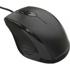Maus, USB Anschluss, optisch, schwarz