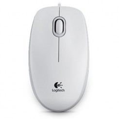 Maus Logitech B100 Optical USB, weiß