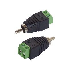 Adapter Cinch/RCA-Stecker 2er-Set