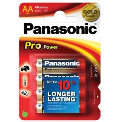 Panasonic Pro Power Batterie Alkali Mignon AA 1,5 V Blister