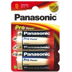 Panasonic Pro Power Batterie Alkali Mono D 1,5 V Blister