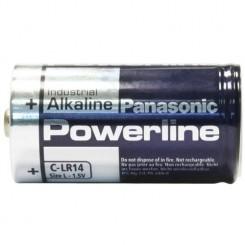 Panasonic PowerLine Batterie Alkali Baby C 1,5 V 4 Stück