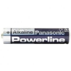 Panasonic PowerLine Batterie Alkali Micro AAA 1,5 V 4 Stück