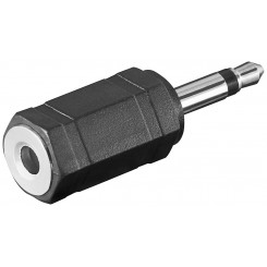 Klinke 3,5 mm Stecker Mono - Klinke 3,5 mm Buchse Stereo