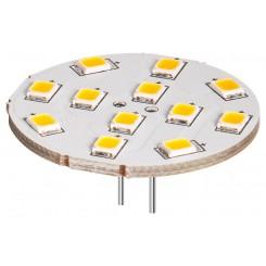LED Tellerstrahler, 2 W - Sockel G4, warm-weiss