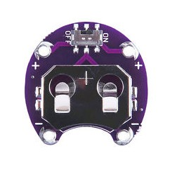 LilyPad Knopfzellen-Halter