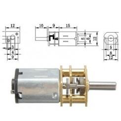 Getriebemotor 12VDC bis 100rpm