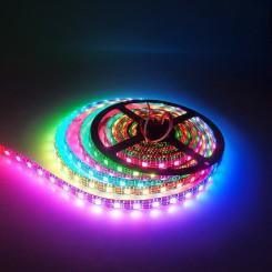 RGB LED Strip Stripe mit WS2812B 5050 1m