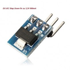 DC-DC Step-Down 5V zu 3.3V 800mA