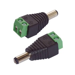 Adapter DC-Hohlstecker 5.5 x 2.5 mm 2er-Set