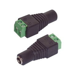 Adapter DC-Hohlbuchse 5.5 x 2.5 mm 2er-Set