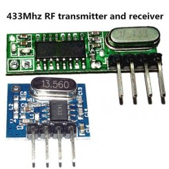 433mhz Superheterodyne Rf Wireless Trans/Receiver