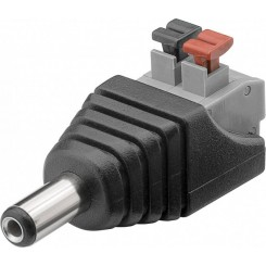 Terminal Block 2-pin zu DC-Stecker (5,50 x 2,10 mm) 2er-Set