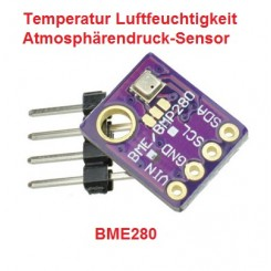 BME280 digitaler Feucht Temperatur Luftdrucksensor