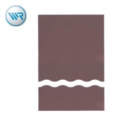 Kupferplatte 75 x 100 mm 1,5 mm Hartpapier