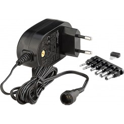 3V-12V Universal-Netzteil - 1,5 A inkl. 6 DC-Adapter