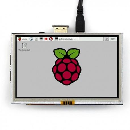 """5"""" Touchscreen für Raspberry Pi"""